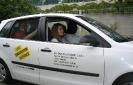 Autoblindfahrt bei den Draussenwerbern (DDW) in Spandau